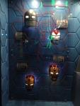 The Marvel Experience San Diego Iron Man Masks