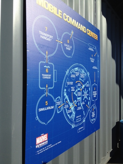 The Marvel Experience San Diego Mobile Command Center