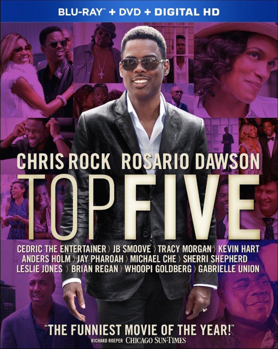 Top Five Blu-Ray Cover Art