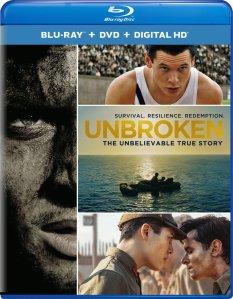 Unbroken Blu-Ray Box Cover Art
