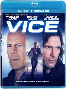Vice Blu-Ray Box Cover Art