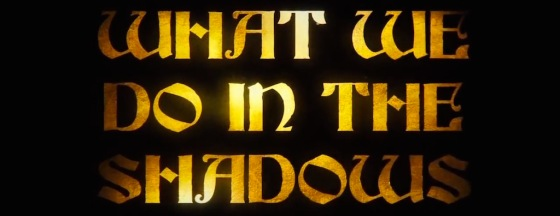 What We Do in the Shadows Movie Title Logo