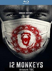 12 Monkeys TV Blu-ray Box Cover Art