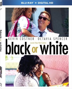 Black or White Blu-Ray Box Cover Art