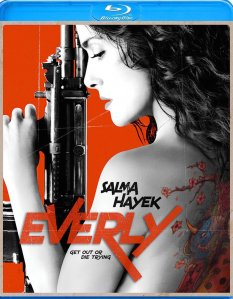 Everly Blu-Ray Box Cover Art