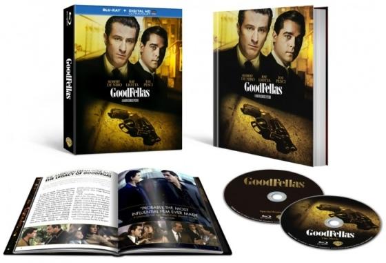 Goodfellas 25th Anniversary Blu-ray Box Cover Art