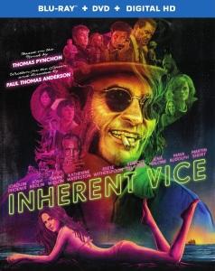 Inherent Vice Blu-Ray Box Cover Art