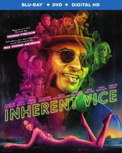 Inherent Vice Blu-Ray Box Cover Art