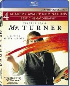 Mr. Turner Blu-Ray Box Cover Art