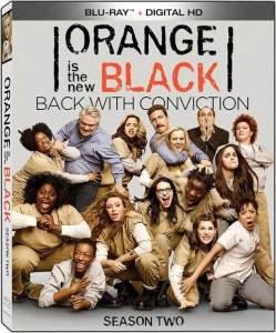Orange is the New Black Season 2 Box Cover Art