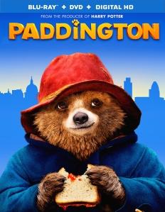 Paddington 2015 Movie Blu-Ray Box Cover Art