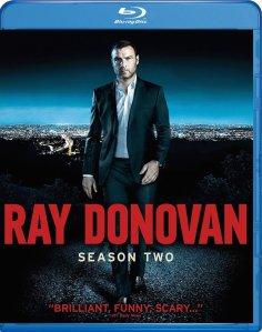 Ray Donovan Season 2 Blu-Ray Box Cover Art