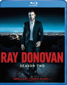 Ray Donovan Season 2 Blu-Ray Box Cover Art