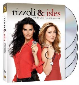 Rizzoli and Isles Season 5 DVD Box Cover Art
