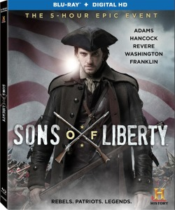 Sons of Liberty Blu-Ray Box Cover Art
