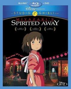 Spirited Away Blu-Ray Box Cover Art