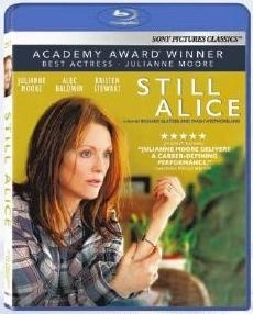 Still Alice Movie Blu-Ray Box Cover Art