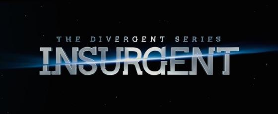 The Divergent Series Insurgent Movie Title Logo