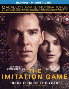 The Imitation Game Blu-ray Box Cover Art