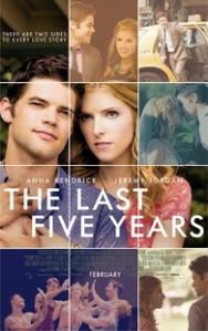 The Last Five Years Movie Blu-Ray Box Cover Art