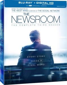 The Newsroom Season 3 Box Cover Art
