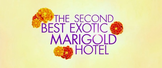 The Second Best Exotic Marigold Hotel Movie Title Logo