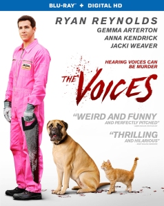 The Voices Blu-Ray Box Cover Art