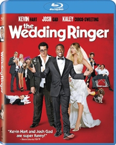 The Wedding Ringer Blu-Ray Box Cover Art