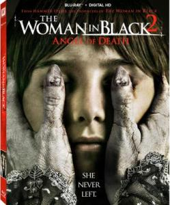 The Woman in Black 2 Angel of Death Blu-Ray Box Cover Art