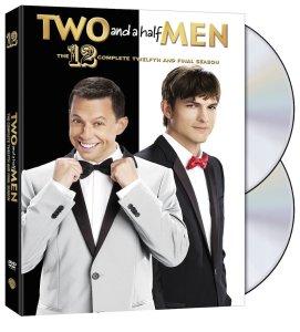 Two and a Half Men Season 12 DVD Box Cover Art