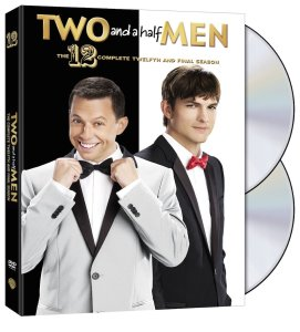 Two and a Half Men Season 12 DVD Box Cover Art
