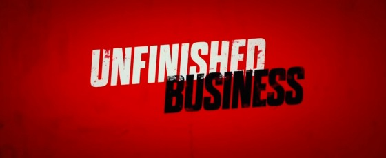 Unfinished Business Movie Title Logo