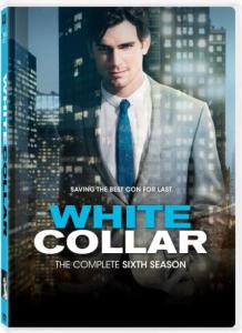 White Collar The Complete Sixth Season DVD Box Cover Art