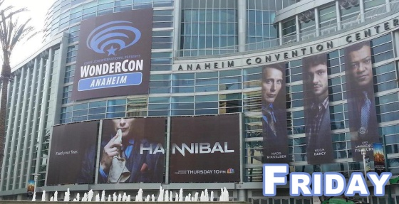 WonderCon Anaheim 2015 Friday Schedule