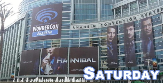 WonderCon Anaheim 2015 Saturday Schedule