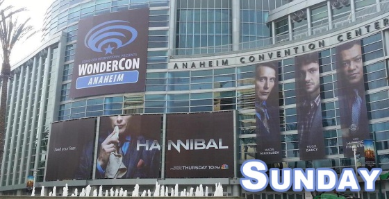 WonderCon Anaheim 2015 Sunday Schedule