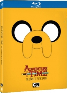 Adventure Time Season 5 Blu-ray Box Cover Art