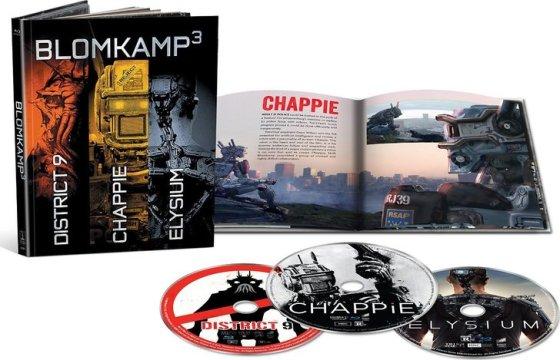 Chappie Blu-Ray Box Cover Art
