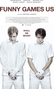 Funny Games Blu-Ray Box Cover Art