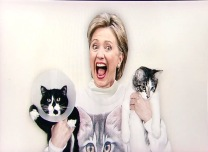 Hillary Clinton Instagram Pictures White House Correspondents' Dinner 2015 Cats