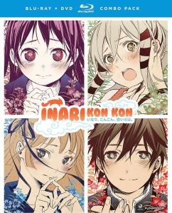 Inari Kon Kon Blu-Ray Box Cover Art