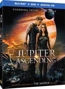 Jupiter Ascending Blu-ray Box Cover Art