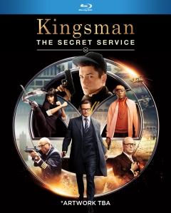 Kingsman The Secret Service Blu-ray Box Cover Art
