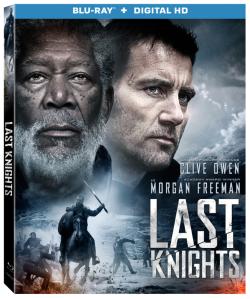 Last Knights Blu-ray Box Cover Art