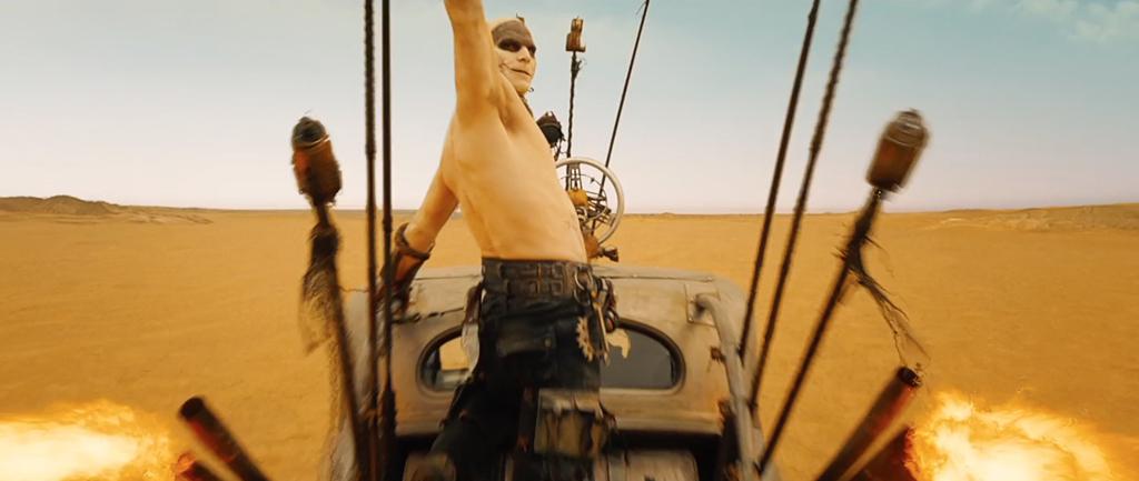 Mad Max Fury Road Screenshot Josh Helman Slit 3