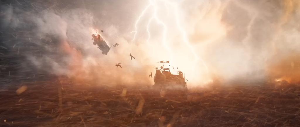 Mad Max Fury Road Screenshot Lightning Storm