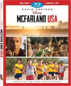 McFarland USA Blu-Ray Box Cover Art