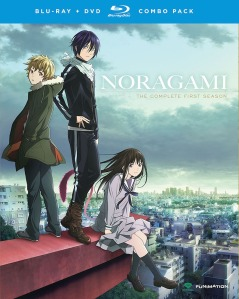 Noragami Season 1 Blu-Ray Box Cover Art