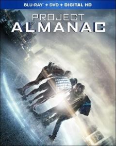 Project Almanac Blu-ray Box Cover Art