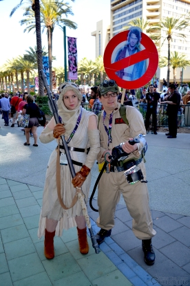 Star Wars Celebration 2015 Cospla Ghostbusters